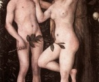 Adam and Eve 6 by Lucas The Younger Cranach, 1538