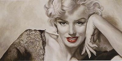 Marilyn-Monroe-In-Your-Eyes-Painting