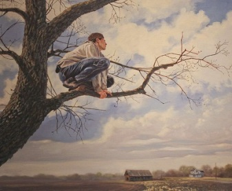 """""""Jacob's View"""" and other paintings by Randal May"""